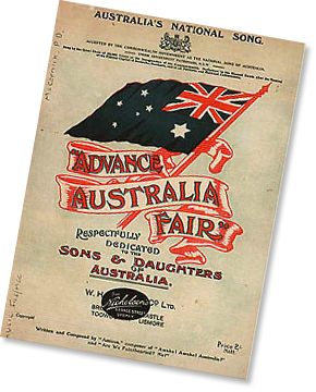 Advance Australia Fair Poster