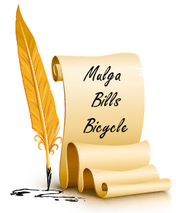 Mulga Bills Bicycle - A B Banjo Paterson - Australian Bush Poem